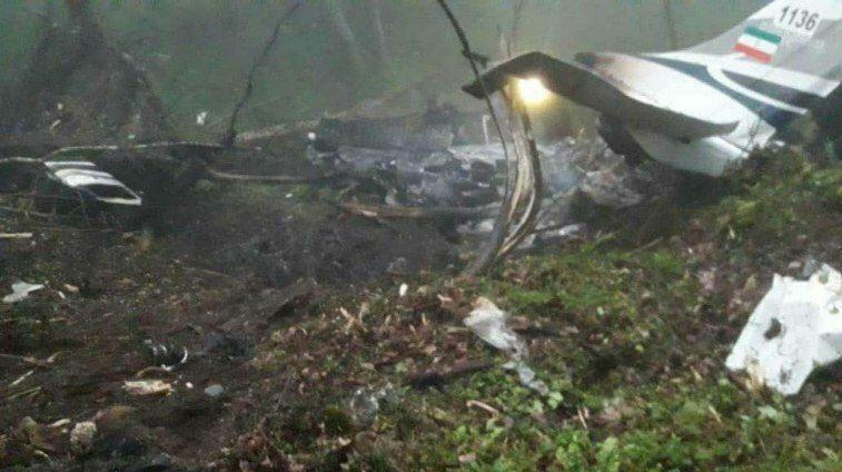 سقوط هواپیمای آموزشی در متل قو