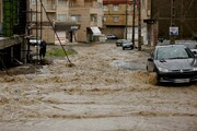 کردستان  | ورود سیلاب به واحدهای مسکونی و تجاری