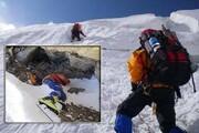 پیدا شدن جسد کوهنورد همدانی در ارتفاعات کلاردشت