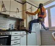 تصاویر | صعود متفاوت کوهنوردان در آشپزخانه!