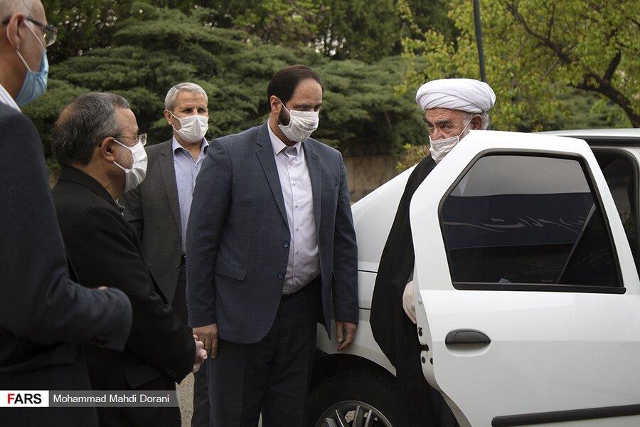 خودرو تردد رئیس دفتر مقام معظم رهبری