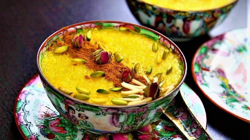 شله زرد - آشپزی - تغذیه