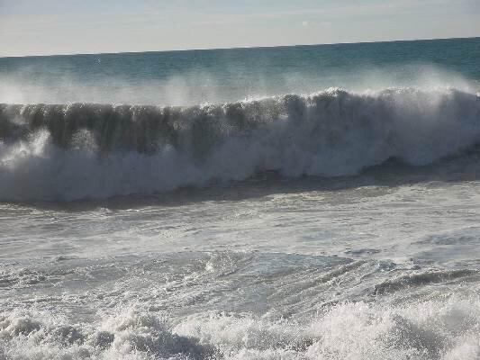 تلاطم دریا