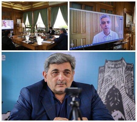 گفتگوي شهرداران تهران و لندن