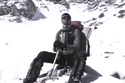 پیکر کوهنورد شیرازی به خاک سپرده شد