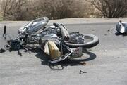 ۲ موتورسوار در پی برخورد با مینیبوس در جاده بافق جانشان را ازدست دادند