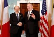 گفتوگوی پمپئو و لودریان درباره ایران