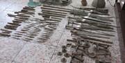 کشف ۱۰۷ عتیقه از عصر آهن و دوره اشکانی در کلاردشت | حفاران غیرمجاز دستگیر شدند