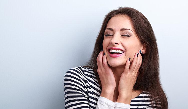 دندان - زیبایی - پوست - زن