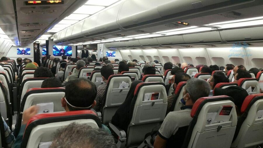 هواپیمای ایران - کرونا