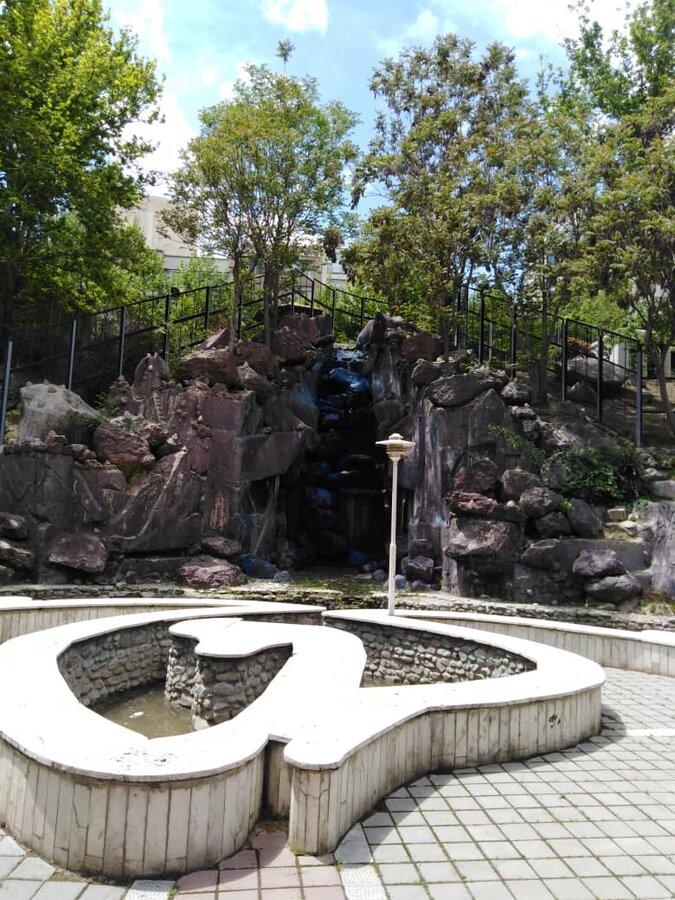 آبشار بوستان ساعی