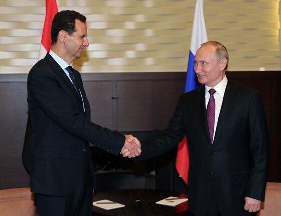 پوتین اسد