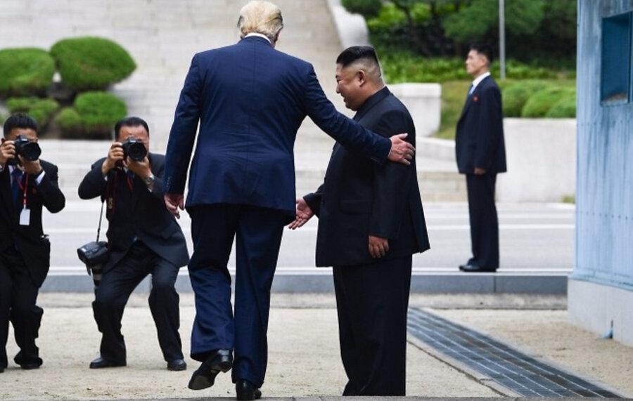 اعتراف رئیس جمهور کره جنوبی به شکست ترامپ از «اون»