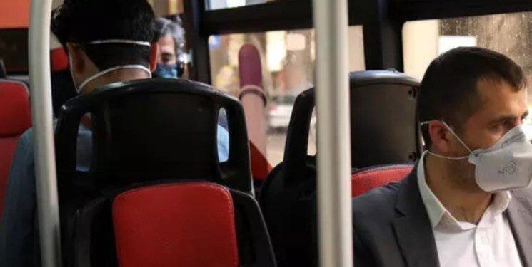 اجبار زدن ماسك در اتوبوس