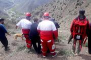 نجات ۳ کوهنورد مصدوم در جاده کرج - چالوس