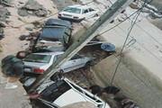 سیلاب خسارتهای بسیاری به روستای دیزادیز قوچان وارد کرد