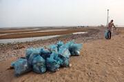 ساحل آستارا پاکسازی شد