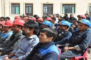 خانهنشینی کارگران کارخانه چدن خوسف | چینیها کارخانه را تعطیل کردند