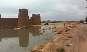 تصویر   تلاش دوستداران میراث فرهنگی برای حفط قلعه تاریخی ابرکوه