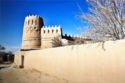 خسارت بارندگی به قلعههای تاریخی یزد   حصار برج قلعه رشکوئیهفروریخت