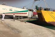 صادرات نخستین محموله میوه و ترهبار از بندر دیر بوشهر به کویت