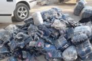 کشف ۹۵۵۰ دست لباس بیمارستانی قاچاق در بوکان