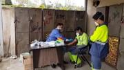 ۱۵۵۰۰ کارگر شهرداری تهران غربالگری شدند | ۱۷ درصد جامعه کارگرانشهری مشکوک به کرونا | آمار مبتلایان قطعی