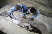 تابوتهای باستانی مصریان داخل دالان مخفی بود