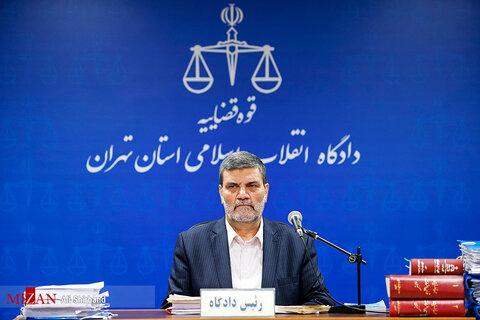 تصاویر چهارمین جلسه رسیدگی به اتهامات روح الله زم