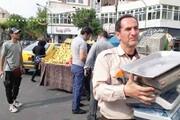 رفع مزاحمت ۴۰ساله میوه فروشان سیار خزانه