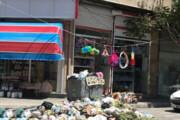 تصویر | مشکل زباله پراکنی در میاندوآب