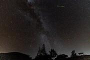 تصاویر | غبار دنبالهدار نمایش میدهد | عکاسی از آسمان به وقت بارش شهابی