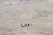 فیلم | لحظه اصابت توپ به تجمع داعشیها