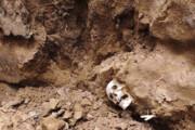 کشف قطعاتی از اسکلت ۲ انسان قرون متاخر اسلامی