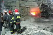 سه کارگر در انفجار کوره ذوب فولاد اشکذر زخمی شدند