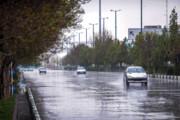 بارش باران همراه با رگبار و رعد و برق در اردبیل