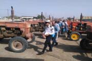 پلاکگذاری ۴۹۰۰ دستگاه ماشینآلات کشاورزی