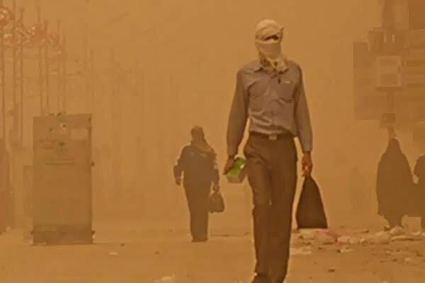 گرد و غبار کرمانشاه