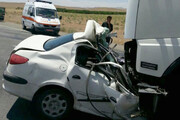 ۲ کشته و ۶ مجروح در حوادث جاده مهریز