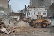 ساختمانهای پیر سخت کنار میروند