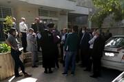 تجمع بازنشستگان ارتش در شیراز | اعتراض به ابطال سند مالکیت زمینهایشان