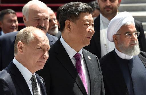 ایران چین روسیه