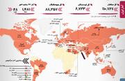 آمار کرونا   افزایش فوتیها   وضعیت قرمز یک استان ایران