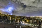 پیشبینی رگبار و باد شدید در البرز