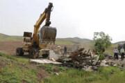 قلع و قمع ۸۴ هزار مترمربع از اراضی ملی در سروستان