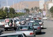 خرمآباد | برگزاری راهپیمایی روز قدس به روش خودرویی