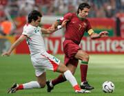 تمجید ستاره پرتغال از کعبی در جام جهانی۲۰۰۶ |عکس های خاطره انگیز از نبرد ایران با پرتغال