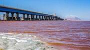 رهاسازی ۱.۲ میلیارد مترمکعب آب در دریاچه ارومیه