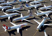دوسوم هواپیماهای جهان زمینگیر شدهاند