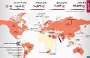 آمار کرونا   افزایش جانباختگان   هشدار در یک استان دیگر ایران